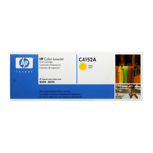 C4152A | HP 8500 | Original HP LaserJet Toner Cartridge - Yellow
