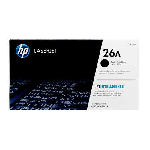 HP 26A | CF226A | Original HP LaserJet Toner Cartridge - Black
