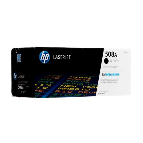 Original HP 508A Black CF360A LaserJet Toner Cartridge