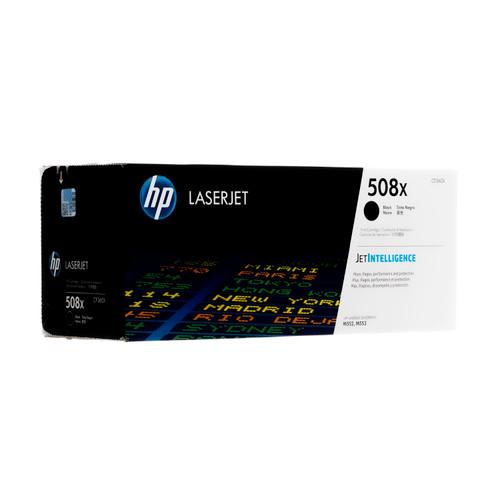 CF360X   HP 508X   Original HP High-Yield LaserJet Toner Cartridge - Black