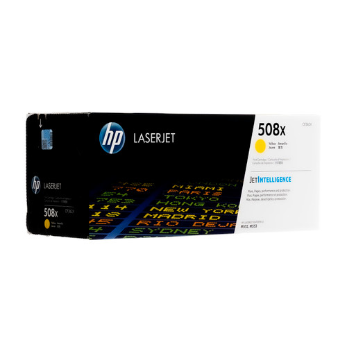 CF362X | HP 508X | Original HP High-Yield LaserJet Toner Cartridge - Yellow