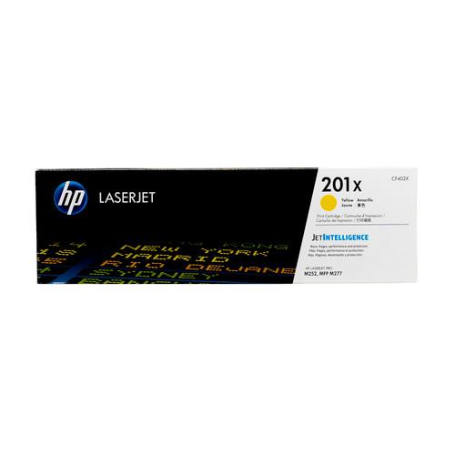 CF402X | HP 201X | Original HP High-Yield LaserJet Toner Cartridge - Yellow