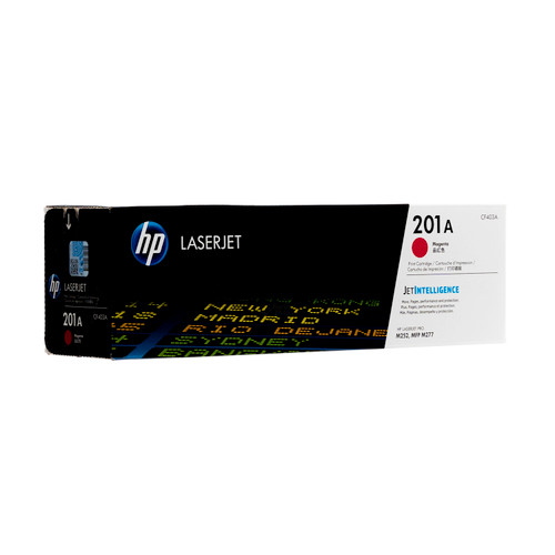 Original HP 201A Magenta CF403A LaserJet Toner Cartridge