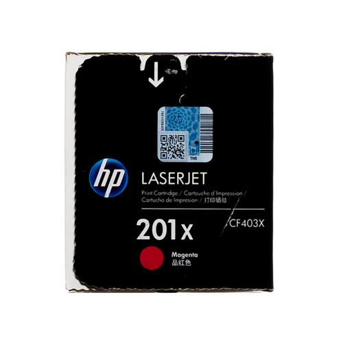 Original HP 201X Magenta CF403X High-Yield LaserJet Toner Cartridge