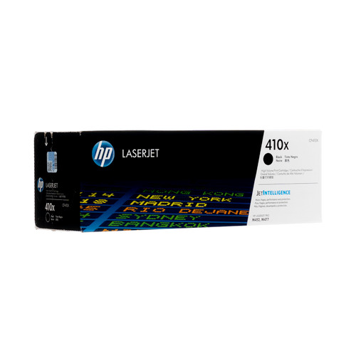 Original HP 410X Black CF410X High-Yield LaserJet Toner Cartridge