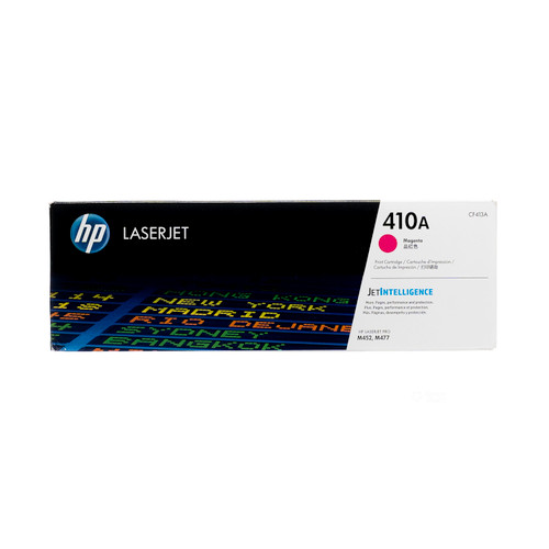 Original HP 410A Magenta CF413A LaserJet Toner Cartridge