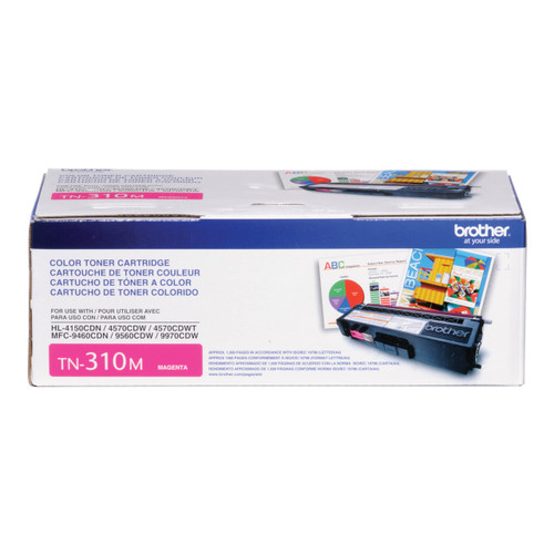 Original Brother TN-310M Magenta Laser Toner Cartridge