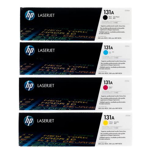 HP 131A SET | CF210A CF211A CF212A CF213A | Original HP Toner Cartridge - Black, Cyan, Yellow, Magenta