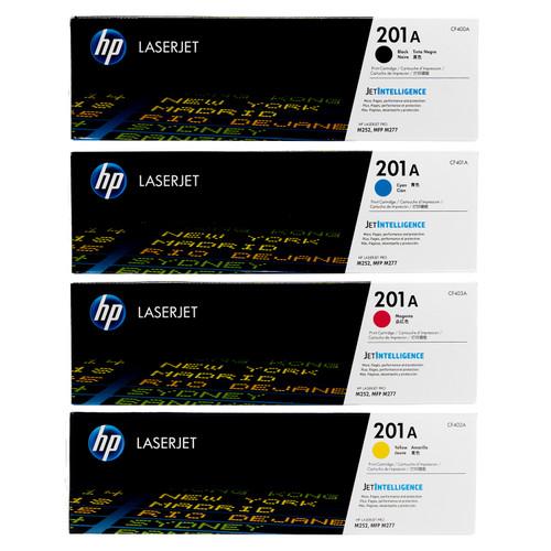 HP 201A SET | CF400A CF401A CF402A CF403A | Original HP Toner Cartridge - Black, Cyan, Yellow, Magenta