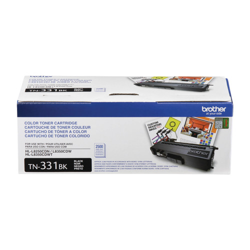 Original Brother TN-331BK Black Toner Cartridge