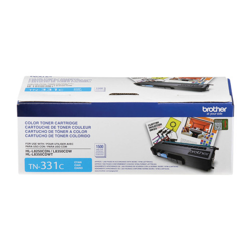 Original Brother TN-331C Cyan Toner Cartridge