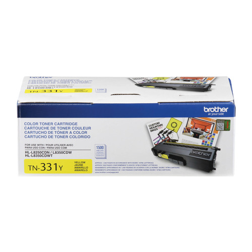 Original Brother TN-331Y Yellow Toner Cartridge