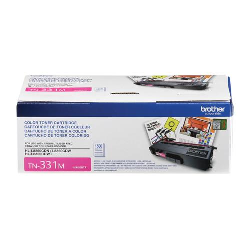 Original Brother TN-331M Magenta Toner Cartridge