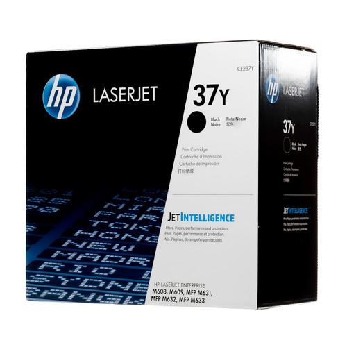 Original HP CF237Y 37Y Black Extra High-Yield LaserJet Toner Cartridge
