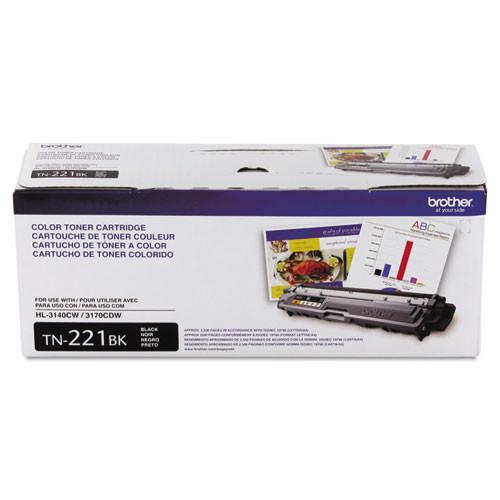 Brother TN221BK Black Toner Cartridge