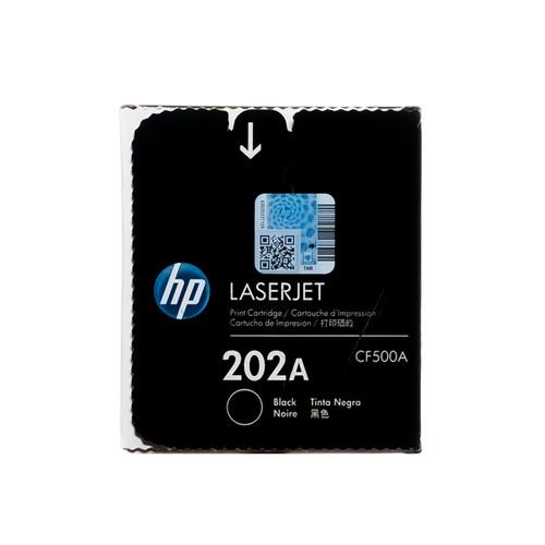Original HP 202A Black CF500A Toner Cartridge