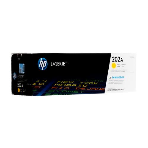 Original HP 202A Yellow CF502A Toner Cartridge
