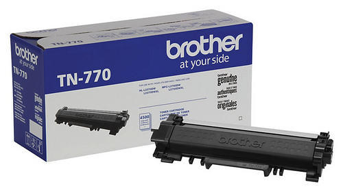 Original Brother TN770 Super High-Yield Toner Cartridge