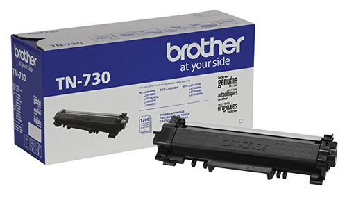 Original Brother TN730 Black Toner Cartridge