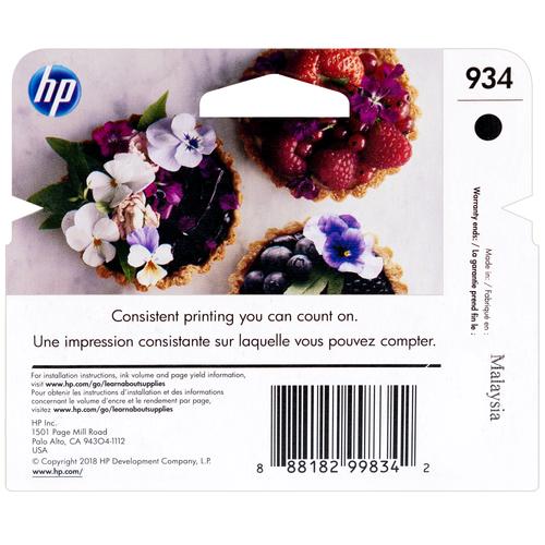 C2P19AN   HP 934   Original HP Ink Cartridge - Black