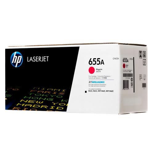CF453A | HP 655A | Original HP Toner Cartridge - Magenta