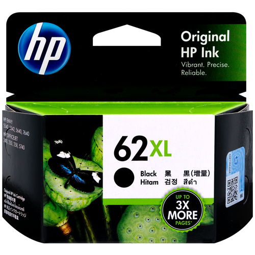 Original HP 62XL C2P05AN #140 Black Ink Cartridge