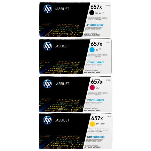 HP 657X SET   CF470X CF471X CF472X CF473X   Original HP Toner Cartridge - Black, Cyan, Yellow, Magenta