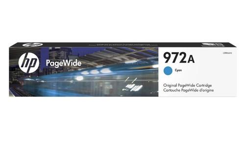 Original HP 972A PageWide Cyan Ink Cartridge L0R86AN