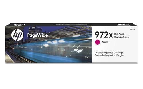 Original HP 972X PageWide Magenta High-Yield Ink Cartridge L0S01AN