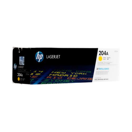 Original HP 204A Yellow CF512A Yellow LaserJet Toner Cartridge