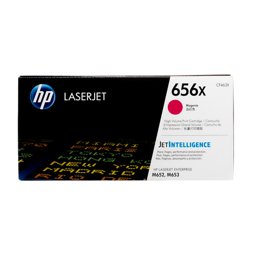 CF463X | HP 656X | Original HP High-Yield LaserJet Toner Cartridge - Magenta