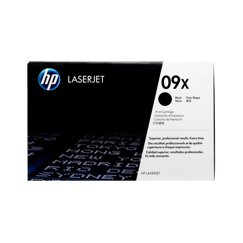 Original HP 09X C3909X Black High-Yield LaserJet Toner Cartridge