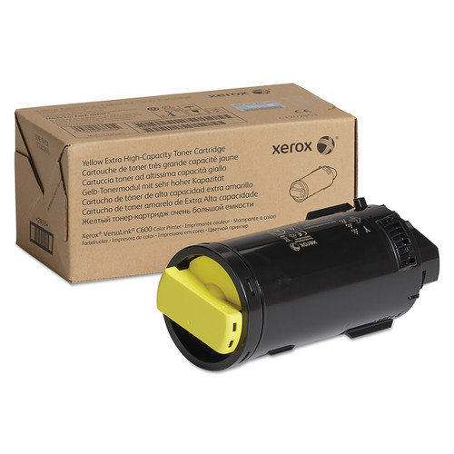 106R04008 | Original Xerox Extra High-Yield Toner Cartridge - Yellow