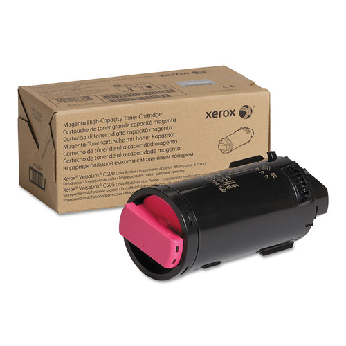 106R04015 | Original Xerox High-Yield Toner Cartridge - Magenta