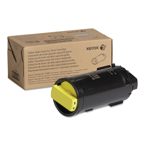 106R04016 | Original Xerox High-Yield Toner Cartridge - Yellow