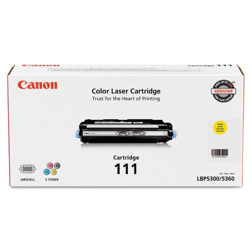 1657B001 | Canon 111 | Original Canon Toner Cartridge - Yellow