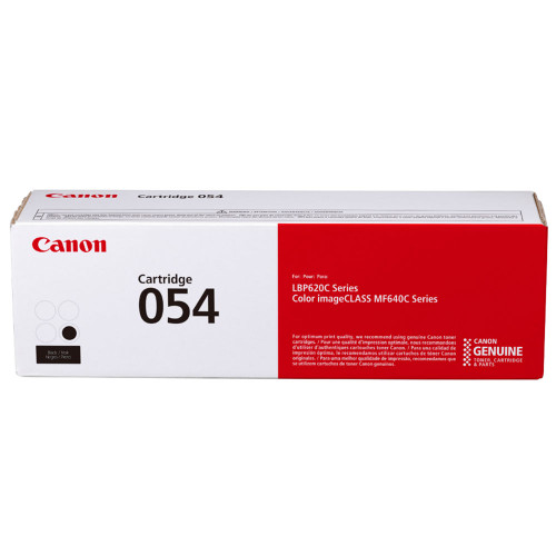 Original Canon 3024C001 (054) Toner, 1,500 Page-Yield, Black