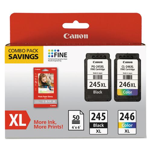8278B006 | Canon PG-245XL | Original Canon High Yield Ink Cartridges - Black, Tricolor