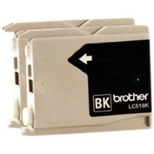 LC-51   Original Brother Ink Cartridge 2-Pack – Black