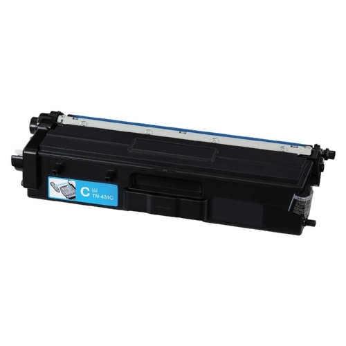 Original Brother TN431C Genuine OEM Standard Yield Cyan Toner (1.8K YLD)