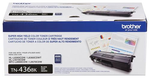TN-436 | Original Brother Super High-Yield Toner Cartridge – Black