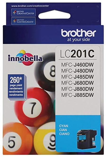 LC-201 | Original Brother Ink Cartridge – Cyan