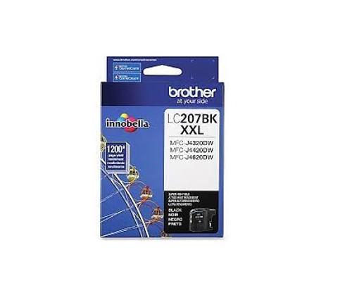 Original Brother LC207BK LC-207BK Ink Cartridge