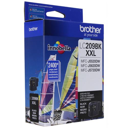 Original Brother LC209BK LC-209BK Ink Cartridge