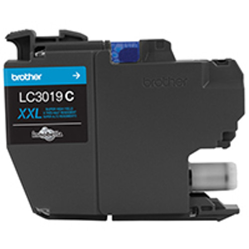 Original Brother LC3019C LC-3019C 15000pages Cyan ink cartridge