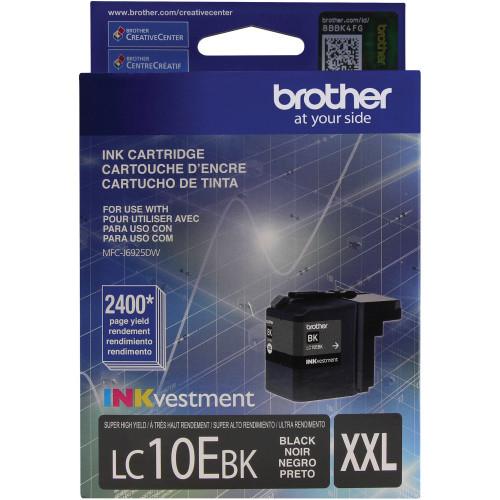 Original Brother LC10EBK Black Inkjet Cartridge