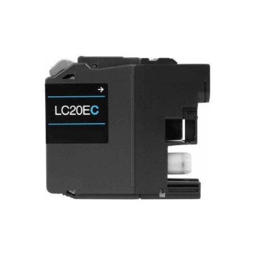 Original Brother LC20EC Cyan Inkjet Cartridge