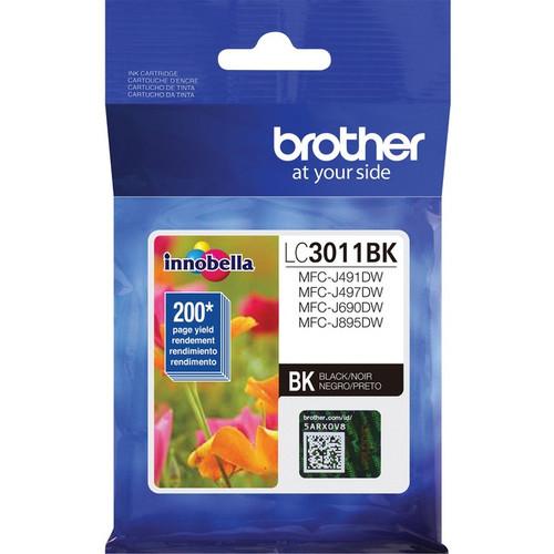 Original Brother LC3011BK Original Ink Cartridge Single Pack - Black