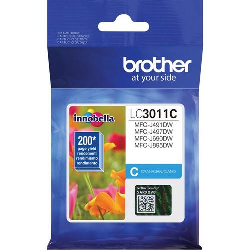 Original Brother LC3011C Original Ink Cartridge Single Pack - Cyan