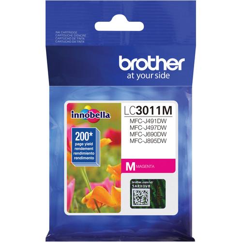 LC-3011   Original Brother Ink Cartridge – Magenta